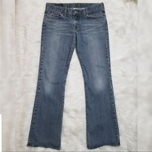 Lucky Brand Jeans Boot Cut Light Wash Dungarees 8
